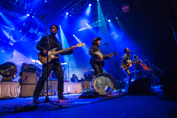 Avett Brothers at America's Cup Pavillion shot by Jason Miller @Jasonmillerca