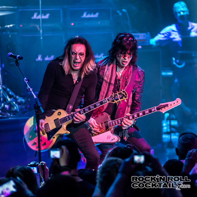 Cinderella on the Monsters of Rock Cruise 2014