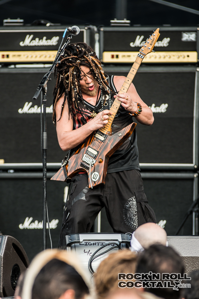 Akira Takasaki on The Monsters of Rock Cruise 2014