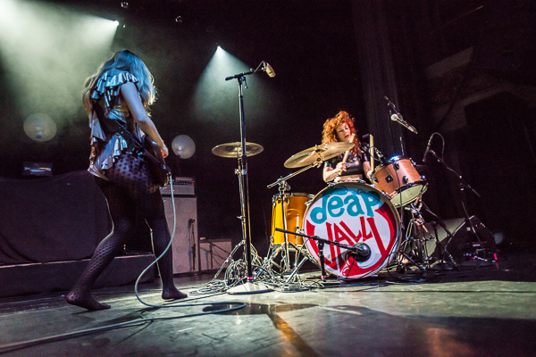 Deap Vally Live