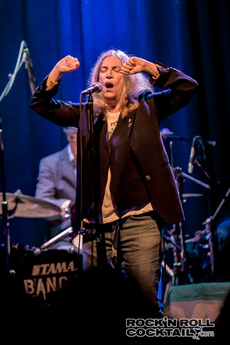Patti Smith at The Fillmore Photographed by Jason Miller-10