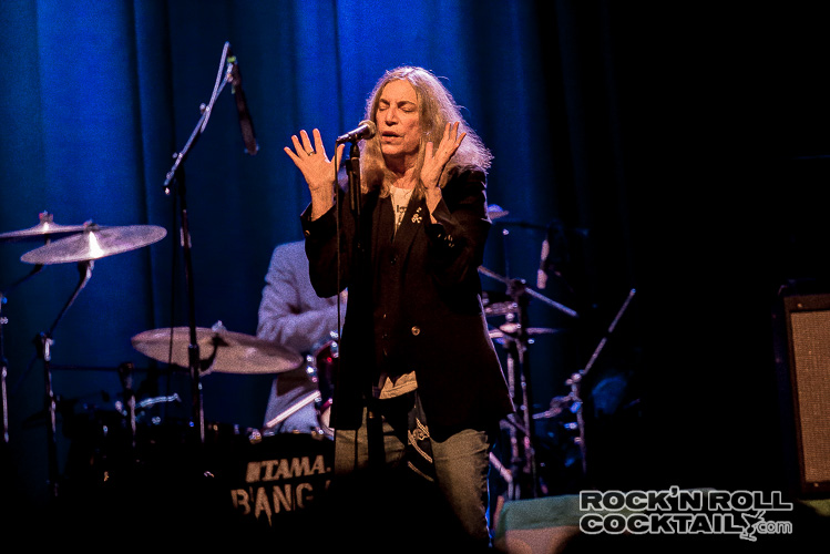 Patti Smith at The Fillmore Photographed by Jason Miller-12