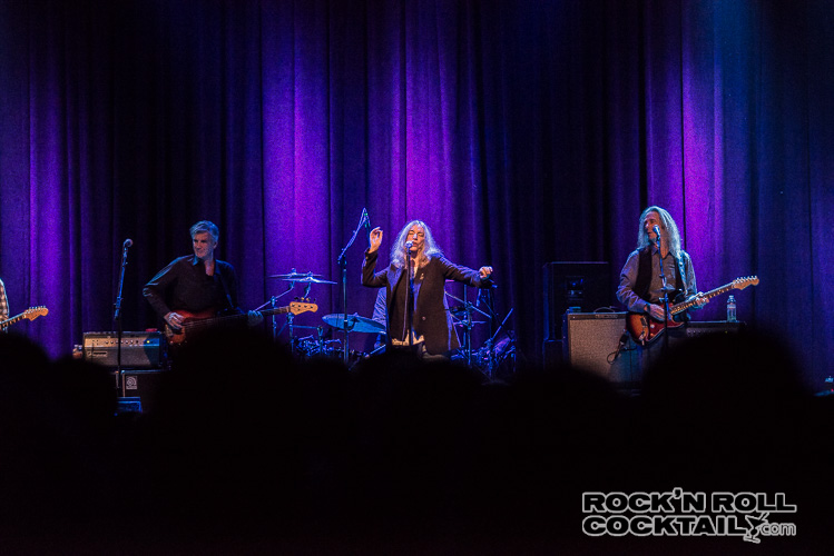 Patti Smith at The Fillmore Photographed by Jason Miller-17