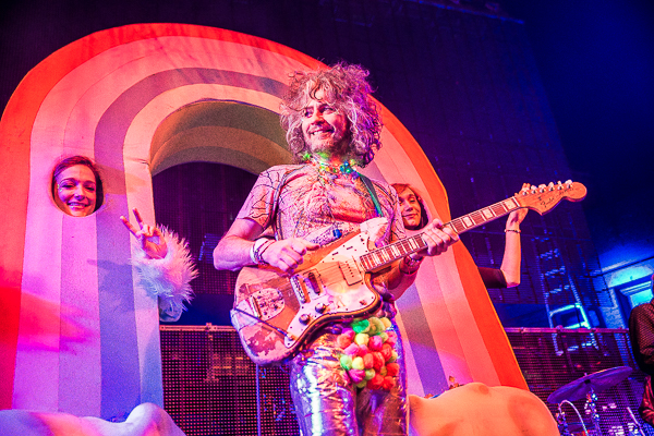 Wayne Coyne of Th Flaming Lips