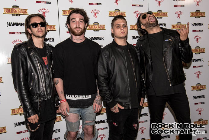 Metal Hammer Golden Gods 2016 Photographed by Jason Miller