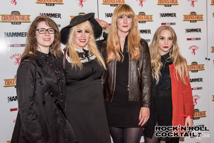 Metal Hammer Golden Gods - London Photographed by Jason Miller