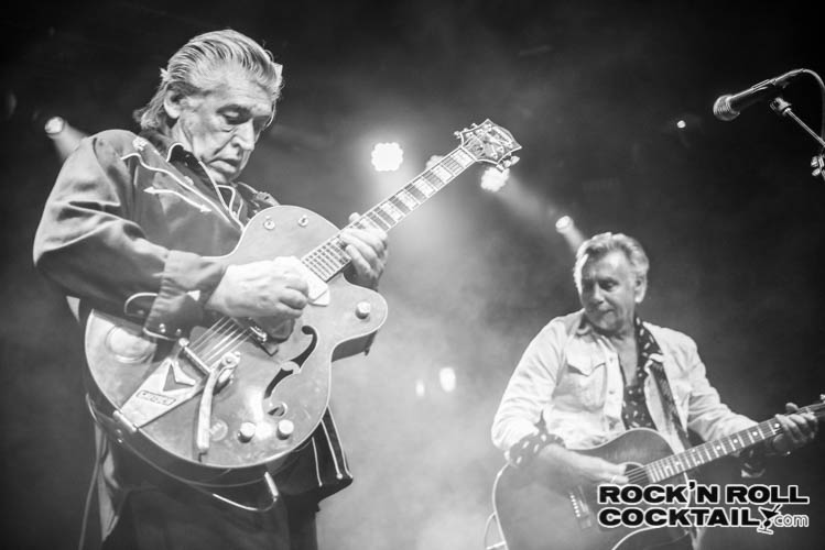 Chris Spedding with Glen Matlock