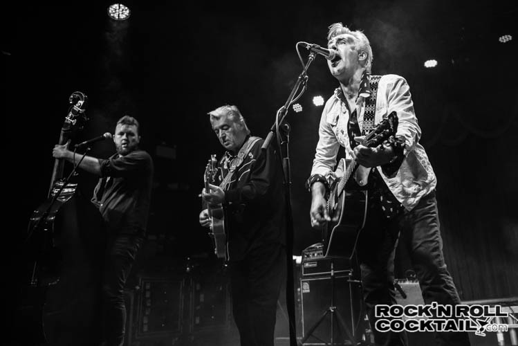 Glen Matlock of the Sex Pistols Performing Live at the Brooklyn Bowl London