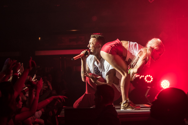Die Antwoord live at the House of Blues